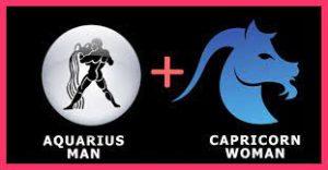 Козерог мужчина и Водолей женщина